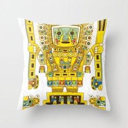 Viracocha Color Throw Pillow