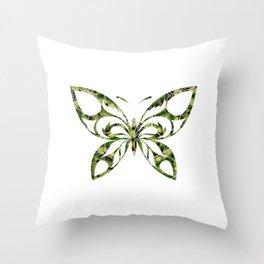 Butterfly 321 Throw Pillow