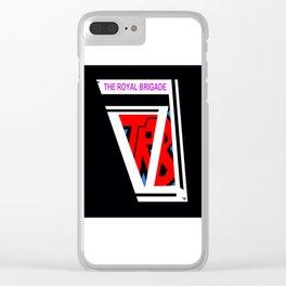THE ROYAL BRIGADE ...logo plain colors Clear iPhone Case