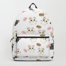 Hamsters and Macarons Backpack