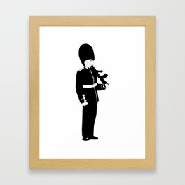 British Coldstream Guard Framed Art Print