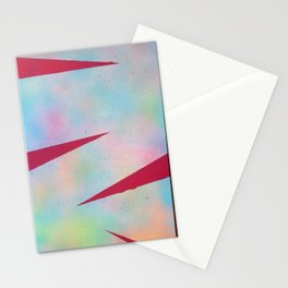 Puntas rosadas Stationery Cards