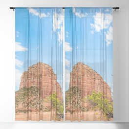 Sedona Arizona Sheer Curtain