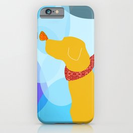 Yellow Labrador Dog iPhone Case