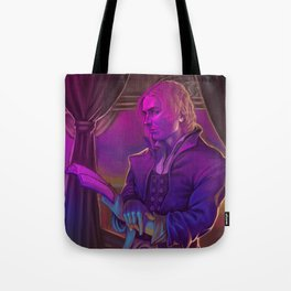 In The Light of the Stained Glass Window Tote Bag