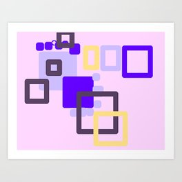 design. Art Print