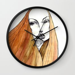 Apple Peel Wall Clock