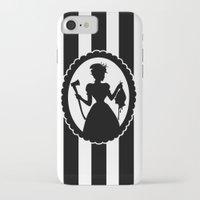 black widow iPhone & iPod Cases featuring Widow by babydark