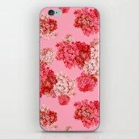 hydrangea (doubled) iPhone & iPod Skin
