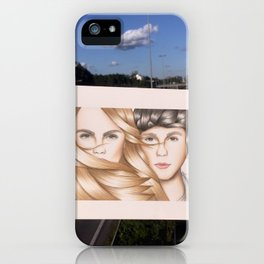 Paper Towns Drawing iPhone Case