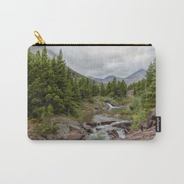 Upper Redrock Falls - Glacier NP Carry-All Pouch