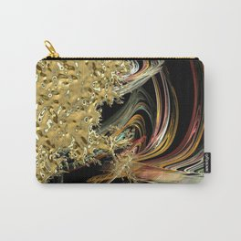Golden Abstractions Carry-All Pouch