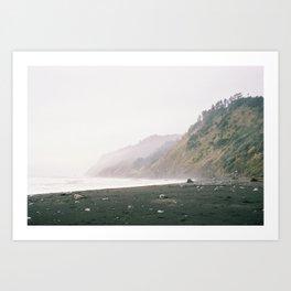 Lost Coast Love Art Print