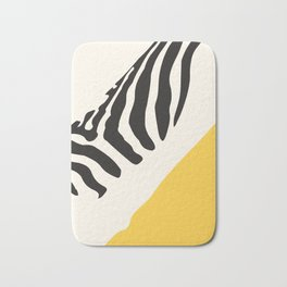 Zebra Abstract Bath Mat