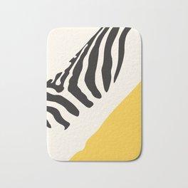 Zebra Abstract Bath Mat