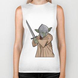 Yoda medieval  Biker Tank
