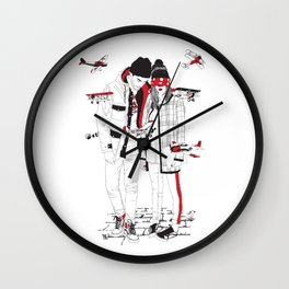 When sight is restricted, vision becomes clear. Wall Clock