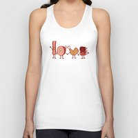meat Tank Tops featuring Meat Love U by Charity Ryan