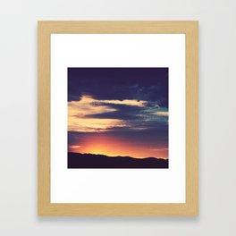 Sunset 01 Framed Art Print