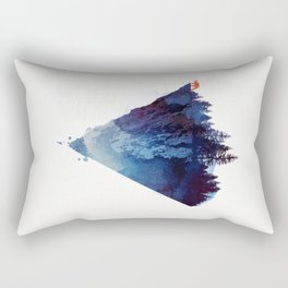 Near to the edge Rectangular Pillow