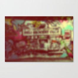 Wynwood Miami Art Blurred Canvas Print