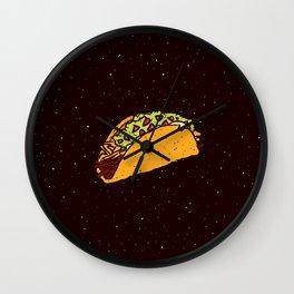 taco lovejoy Wall Clock