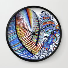 Which Came First? The Indigo or the Egg? Wall Clock