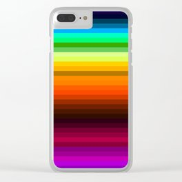 Lines II Clear iPhone Case
