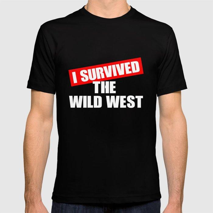 Wild West Collectible Survived Wild West T-shirt