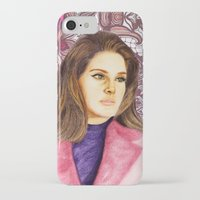 ultraviolence iPhone & iPod Cases featuring LANA II by Share_Shop
