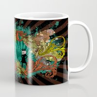 devil Mugs featuring Party Devil by ADIDA FALLEN ANGEL