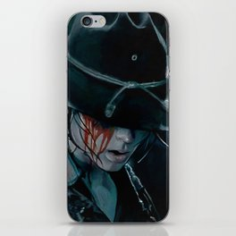 Carl Grimes Shot In The Eye - The Walking Dead iPhone Skin