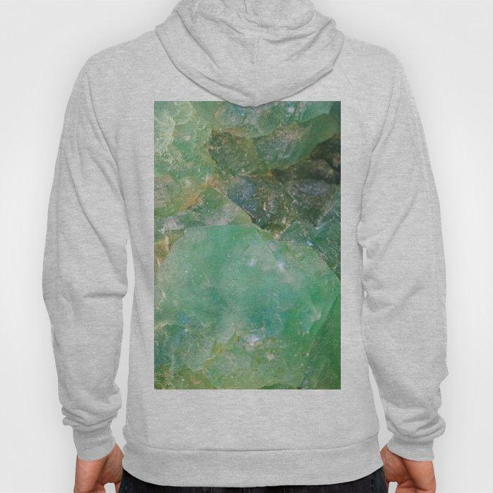 Absinthe Green Quartz Crystal Hoody