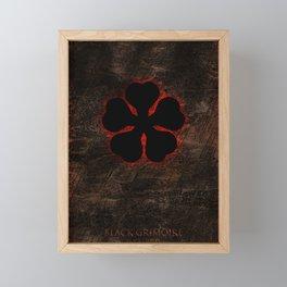 Black Clover Framed Mini Art Print