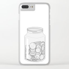 The Swear Jar Clear iPhone Case