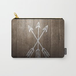 3 Cross Arrows Carry-All Pouch