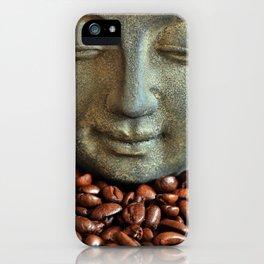 Coffee Buddha 3 iPhone Case