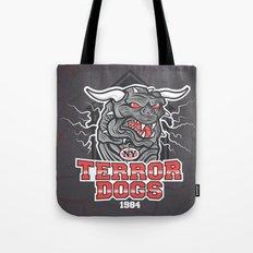 NY Terror Dogs Tote Bag