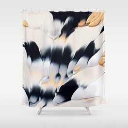 Abstract Flow 01 Shower Curtain