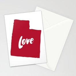 Utah Love Stationery Cards