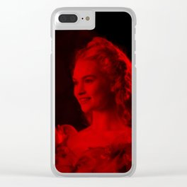 Lily James - Celebrity (Photographic Art) Clear iPhone Case