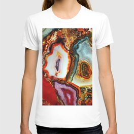 Agate, the Layers of our Earth T-shirt