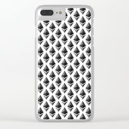 Ethereum - Crypto Fashion Art (Small) Clear iPhone Case