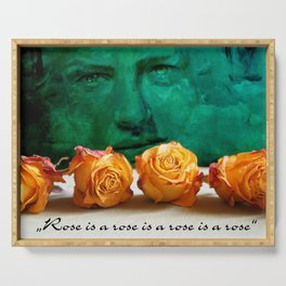 ROSE - quote Serving Tray