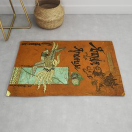Japan and the Japanese People Rug