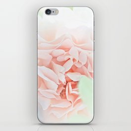 soft and pink iPhone Skin