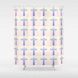 Christian Cross 39 Shower Curtain