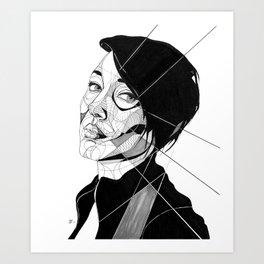 Nikki Art Print