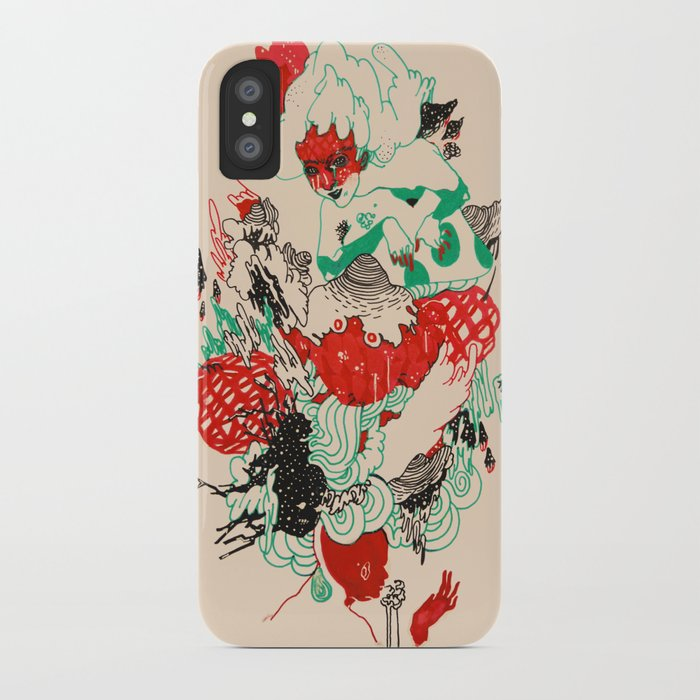 rebirther iPhone Case