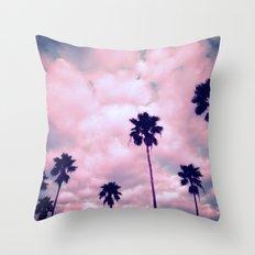 More Palms II Throw Pillow